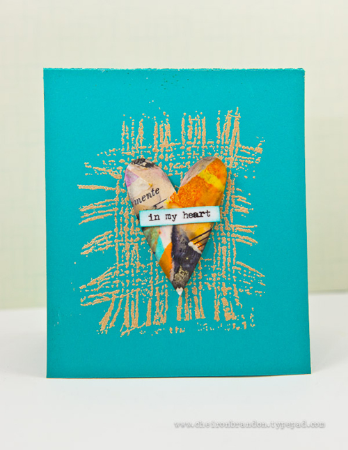 in my heart card by Cheiron Brandon_
