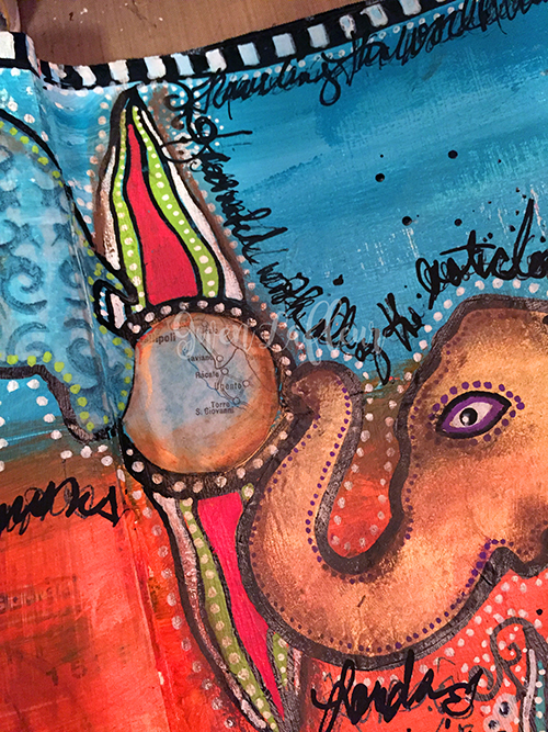 Never Forget - Art Journal Spread Close-up 1 - Gwen Lafleur
