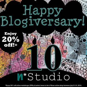 Happy Blogiversary sale