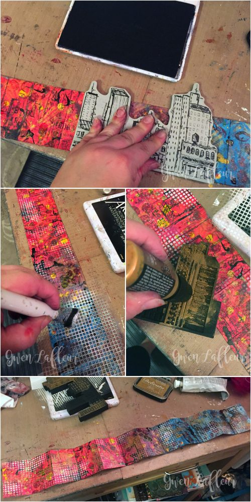 Letter to Future Self - Mini Art Journal Steps 5-8 - Gwen Lafleur