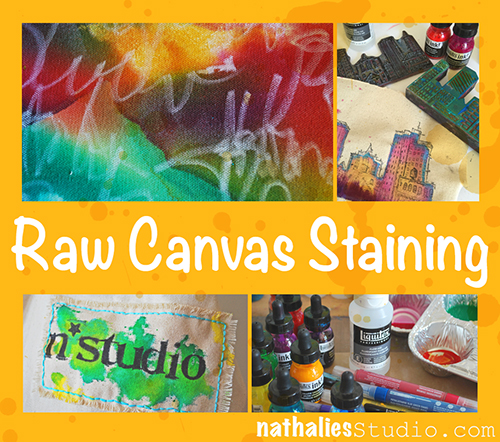 RawCanvasStainingCollage